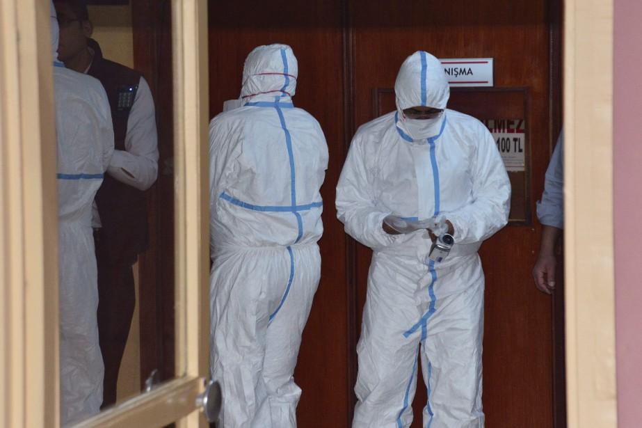 «Des autopsies ont été réalisées à Adana en... (AP)