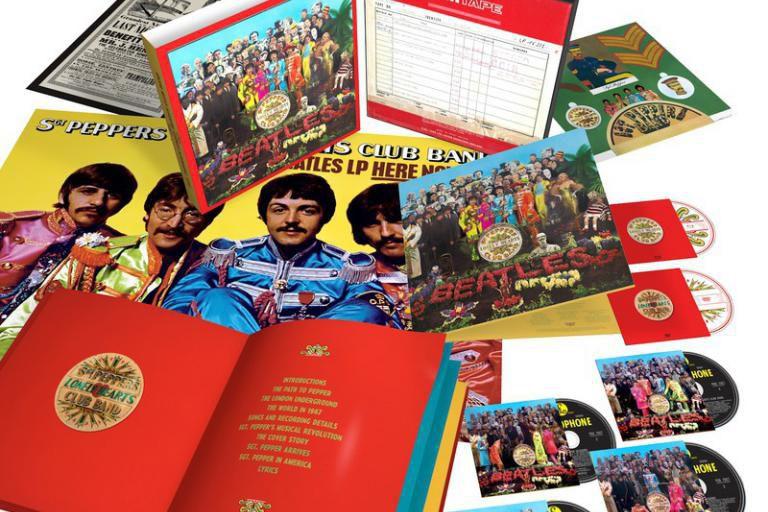 Pour marquer le 50eanniversaire de Sgt. Pepper's Lonely... (Photo fournie par Universal Music Canada)