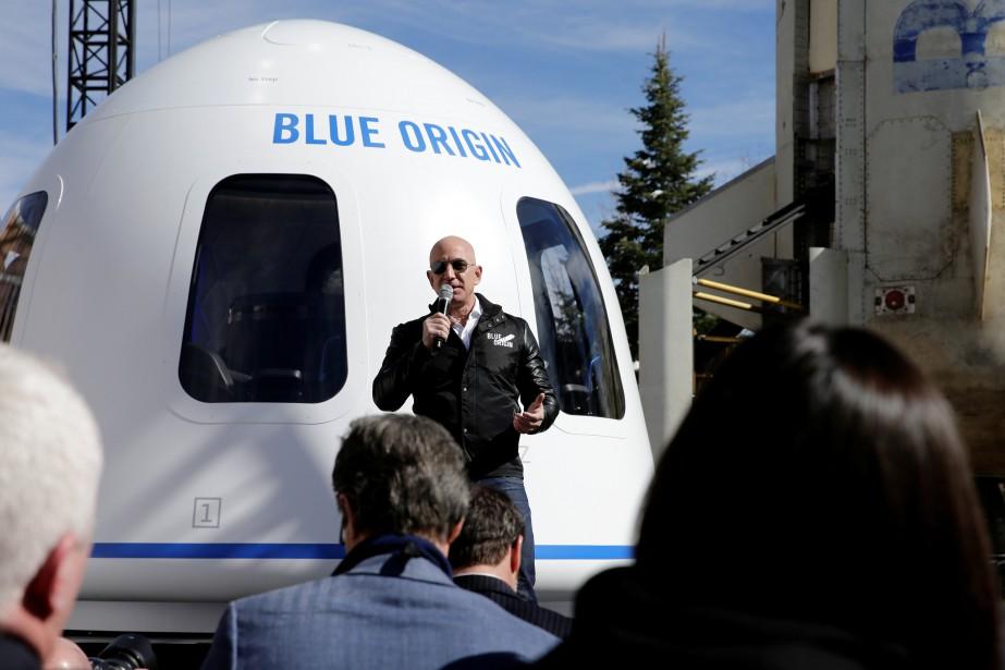Jeff Bezos dit avoir créé Blue Origin pour... (Photo Isaiah J. Downing, REUTERS)