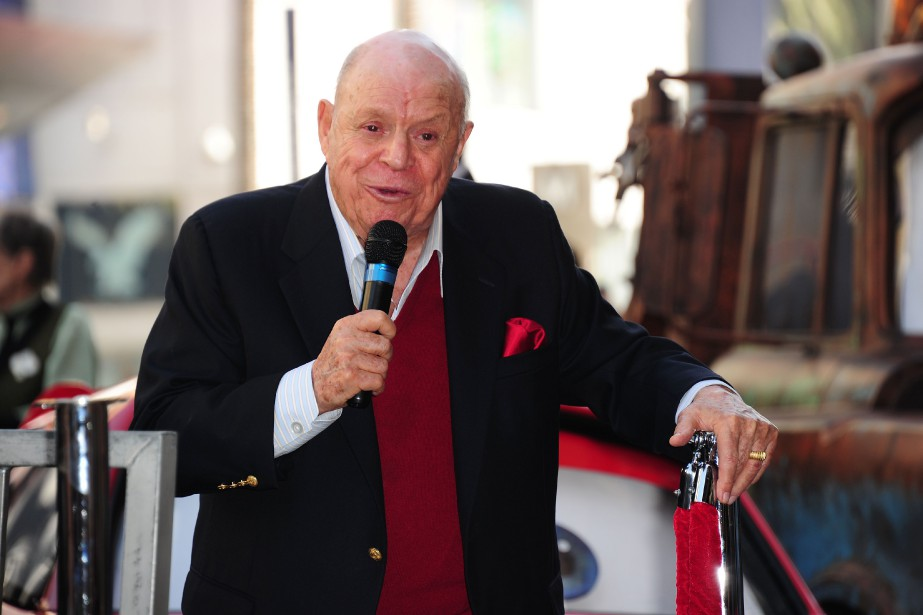 Don Rickles, en 2011.... (Photo Robyn Beck, archives Agence France-Presse)