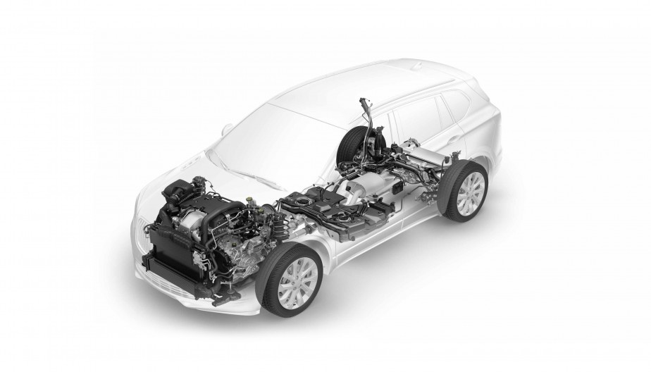 L'Envision partage la même architecture technique que les futurs Chevrolet Equinox et GMC Terrain. | 6 avril 2017
