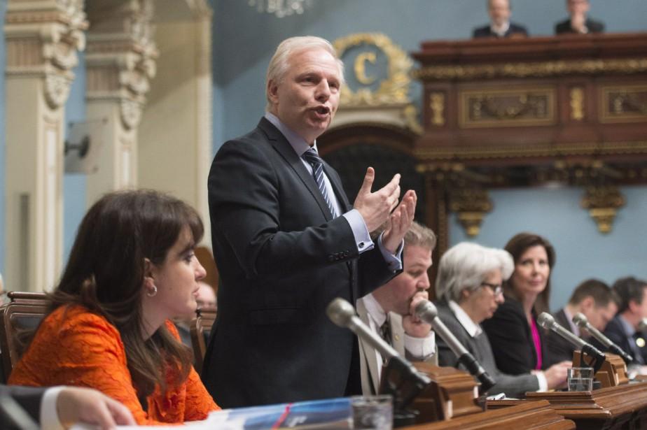 Le chef du Parti québécois, Jean-François Lisée.... (Photo Jacques Boissinot, PC)