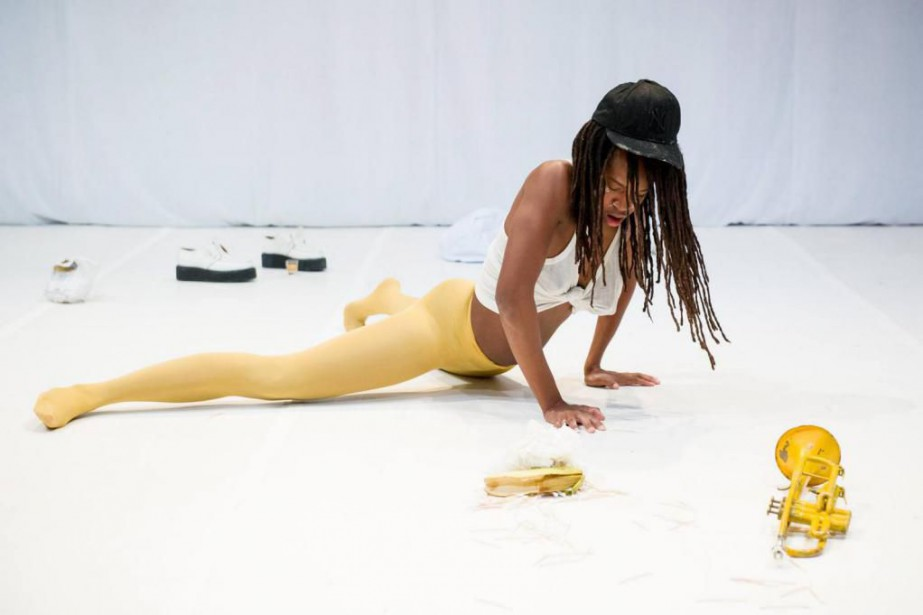 Yellow Towel de Dana Michel... (Photo Ian Douglas)