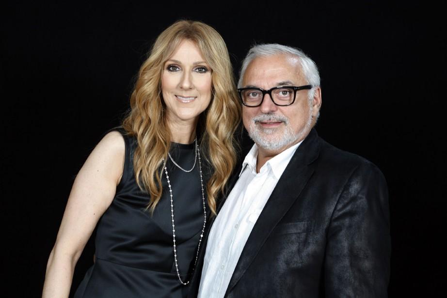 Céline Dion et Aldo Giampaolo... (Archives AFP, Catherine Gugelmann)