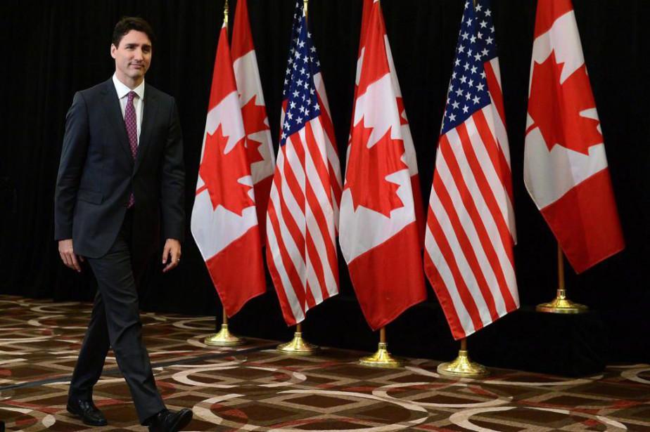 Le premier ministre canadien Justin Trudeau était de... (photoSean Kilpatrick, la presse canadienne)