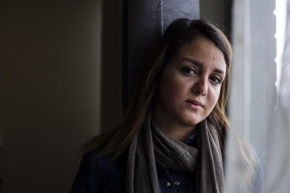 Maha Alio estarrivée à Toronto en janvier dernier... (PHOTO Christopher Katsarov, LA PRESSE CANADIENNE)