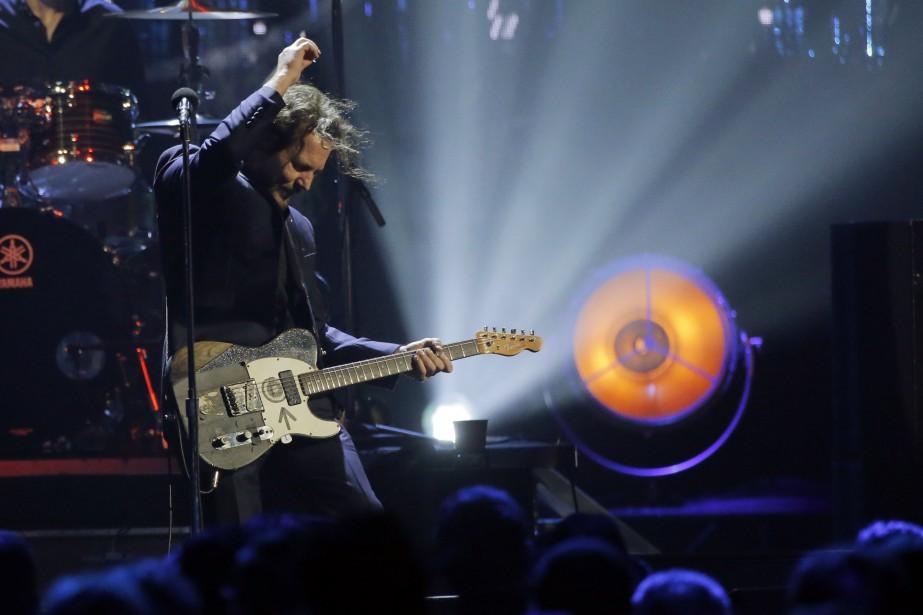 Le chanteur du groupe Pearl Jam, Eddie Vedder... (PHOTO Lucas Jackson, REUTERS)