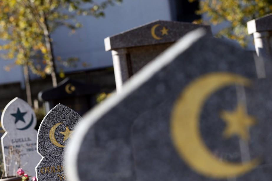 Le Québec compte deux cimetières musulmans, tous deux... (Photo KENZO TRIBOUILLARD, AFP)