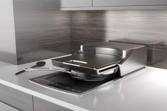 Plaque de cuisson à induction conçue par Lufthansa... (Photo tirée du site de Lufthansa Technik)