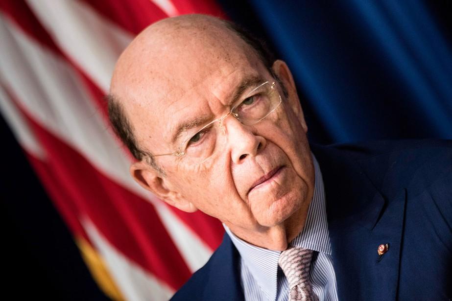 Le secrétaire au Commerce, Wilbur Ross,a soutenu que... (ARCHIVES AFP)