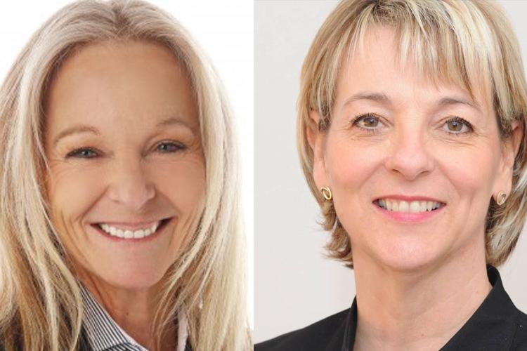Les deux conseillères municipales Josée Latendresse et Sylvie... (Photo officielle des deux candidates)