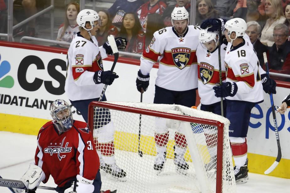 Les Panthers de la Floride ont profité du fait que les Capitals de... (PHOTO AP)