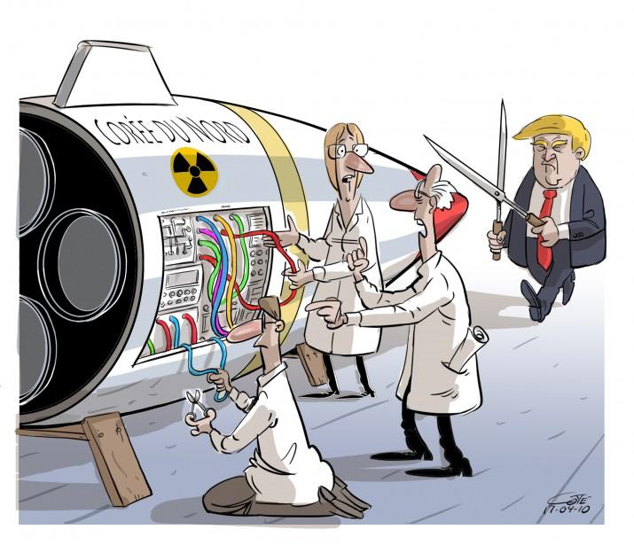 Caricature du 10 avril | 10 avril 2017