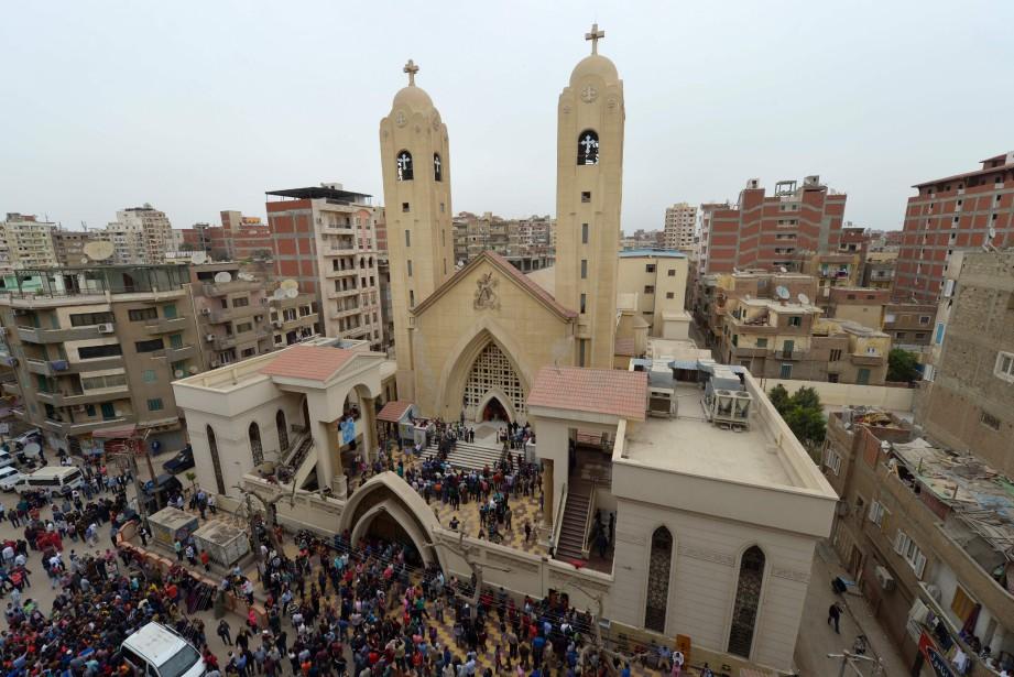 La branche égyptienne de l'EI, qui a revendiqué... (AFP)