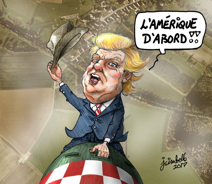 Caricature du 8 avril | 10 avril 2017