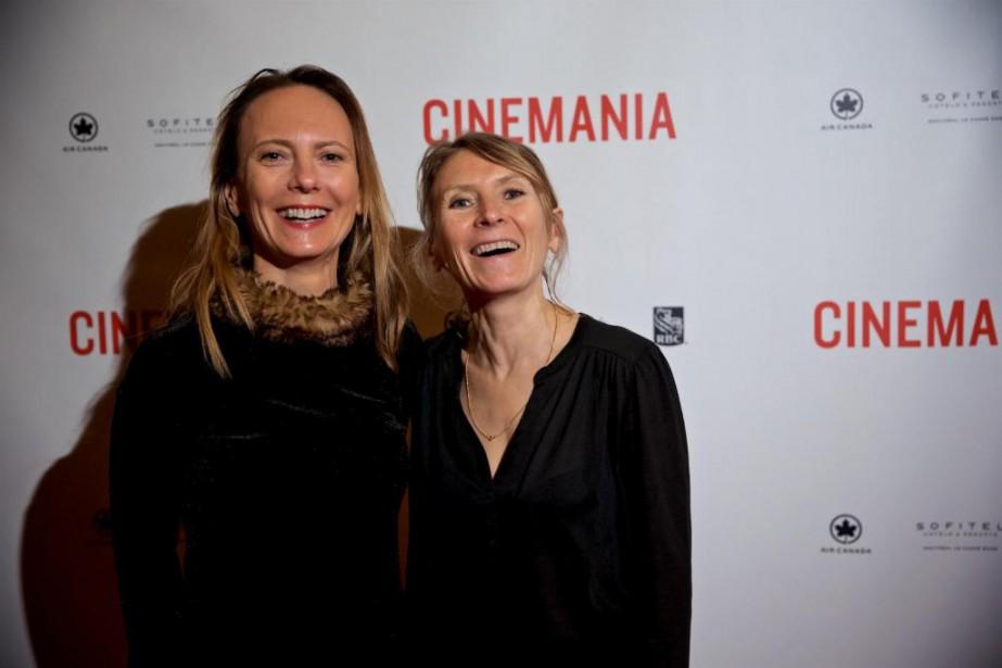 Les réalisatrices Delphine et Murielle Coulin... (Photo André Pichette, Archives La Presse)