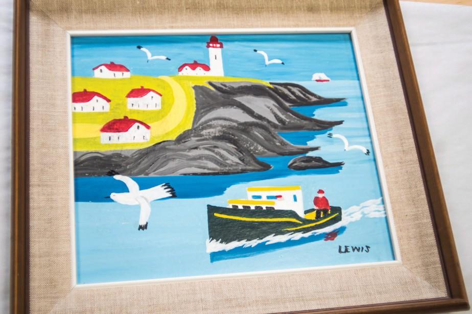 L'exposition de la toile, qui se déroulera du... (Photo Ken Ogasawara)