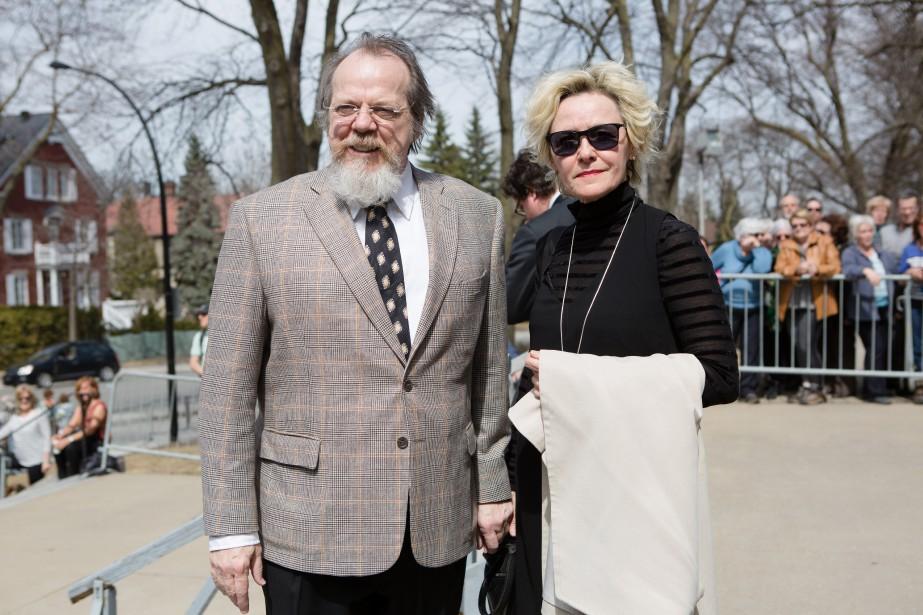 Guy Nadon et Denise Guilbault. (NINON PEDNAULT, LA PRESSE)