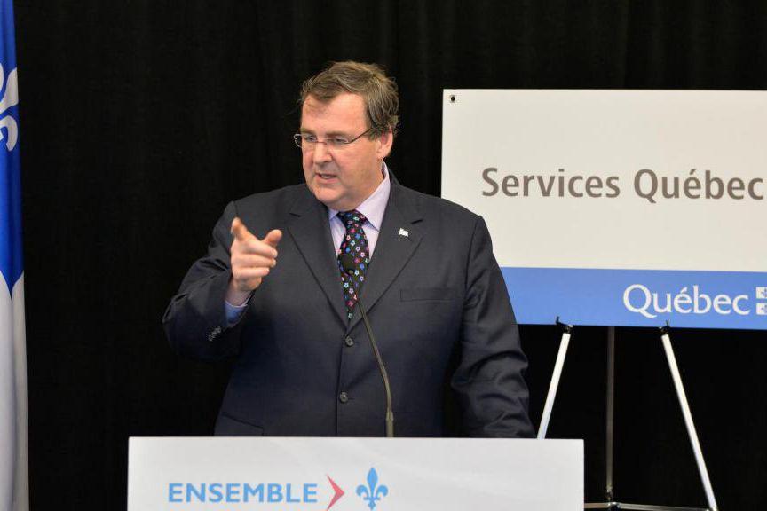 François Blais, ministre de l'Emploi et de la... (Photo Pascal Ratthé, Le Soleil)