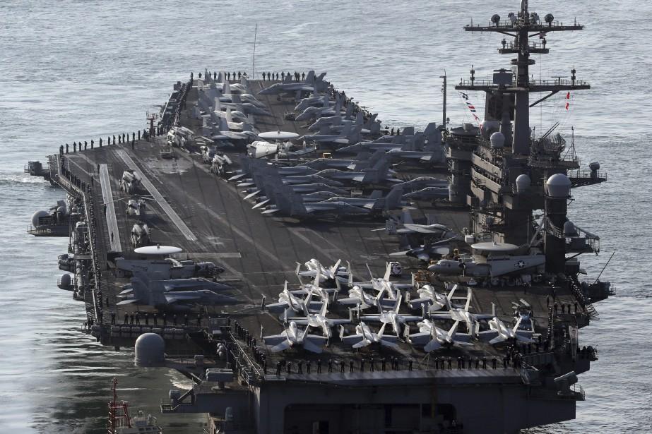 Washington a annoncé pendant le week-end que le... (AP, Jo Jung-ho)