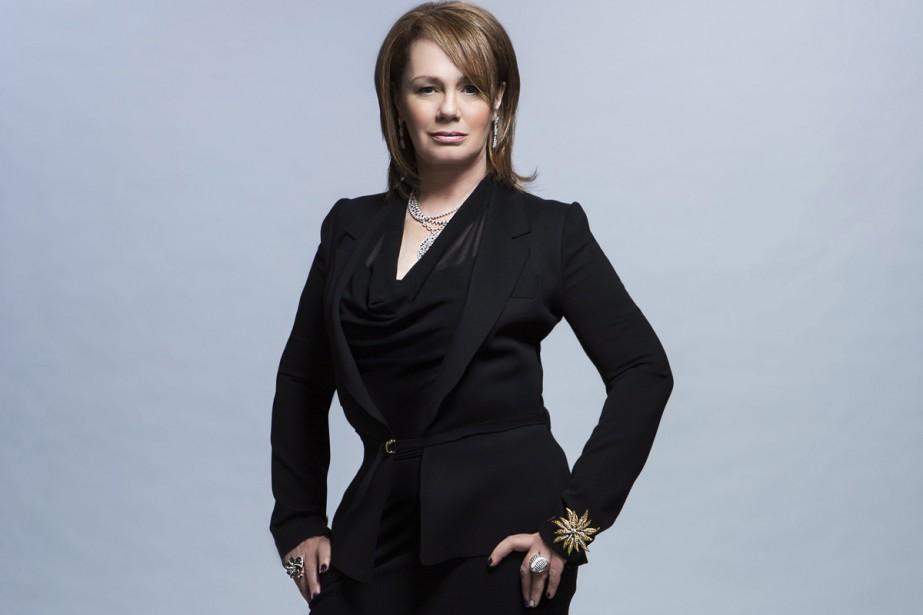 La femme d'affaires canadienne Arlene Dickinson... (PHOTO LA PRESSE CANADIENNE)
