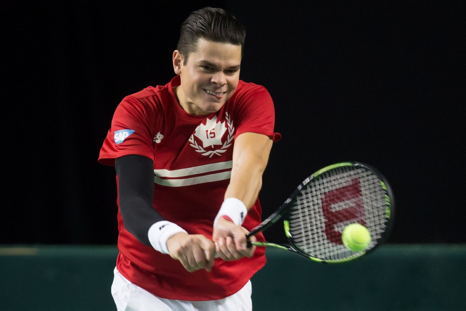 Milos Raonic... (Photo Darryl Dyck, archives PC)
