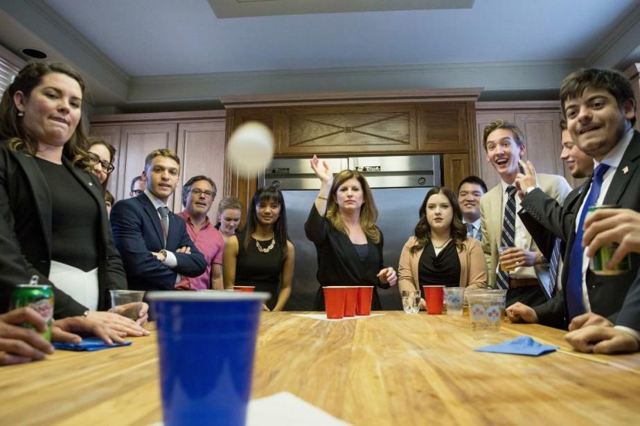 Le Parti conservateur et sa chef Rona Ambrose... (Photo tirée de Twitter)