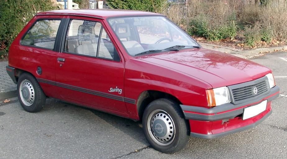 <strong>La voiture qui a marqué son enfance</strong> Au Ghana, Opel était bien implanté et Domonic Oduro avait un faible pour la Corsa.<br /><br /> (Photo Wikipédia)