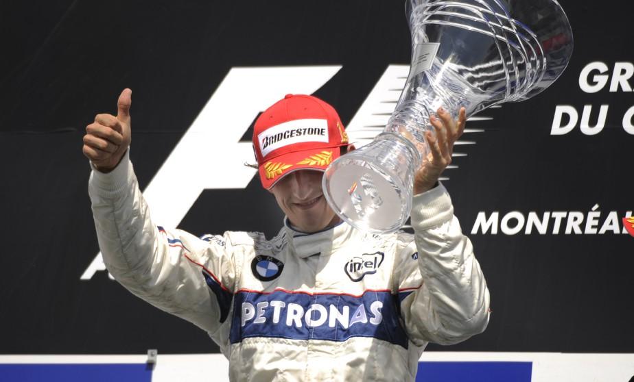Robert Kubica sur BMW Sauber a remporté sa premiere course au circuit Gilles Villeneuve lors du Grand Prix du Canada. ()