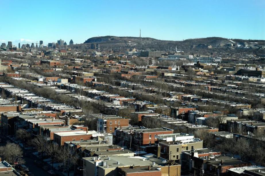 Le secteur de l'habitation du Canada est identifié... (Photo Bernard Brault, Archives La Presse)