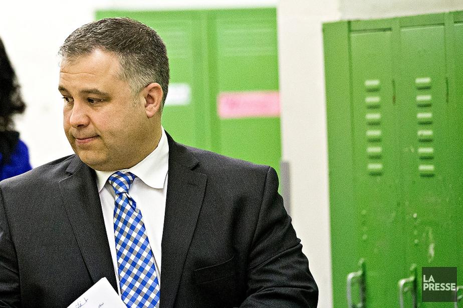 Le ministre de l'Éducation, Sébastien Proulx.... (La Presse photo  PATRICK SANFACO)