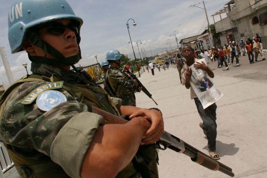 Des Casques bleus bangladais, brésiliens, jordaniens, nigérians et... (Photo Ariana Cubillos, Archives Associated Press)