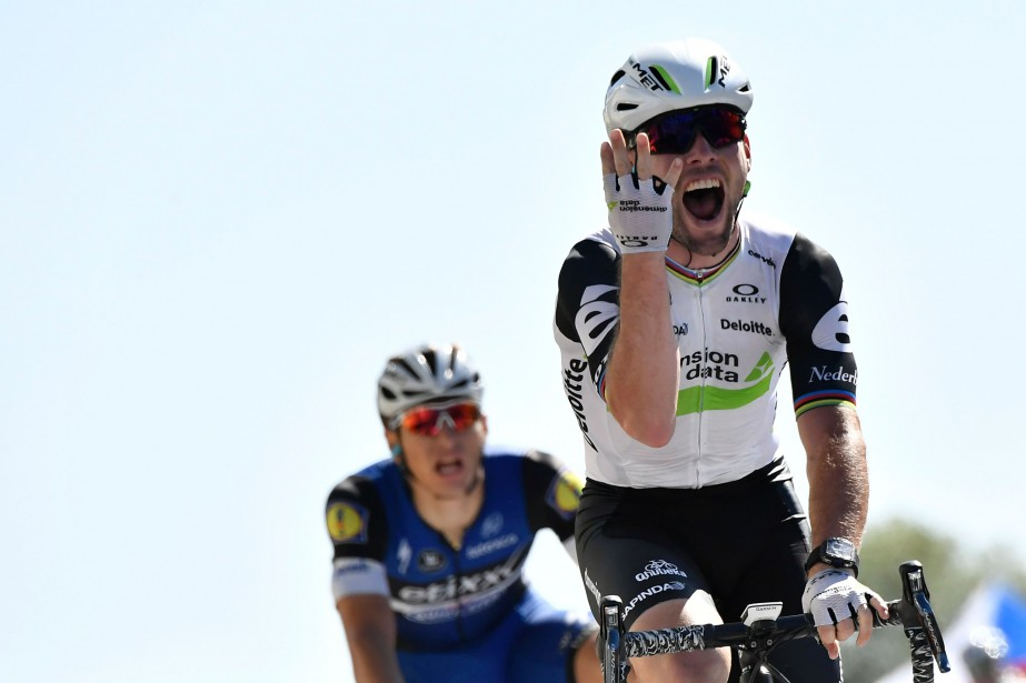Mark Cavendish... (Photo Jeff Pachoud, archives AFP)