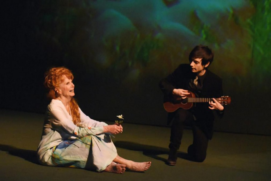 Béatrice Picard et Sébastien René tiennent la vedette... (photo Caroline Laberge, fournie par Duceppe)