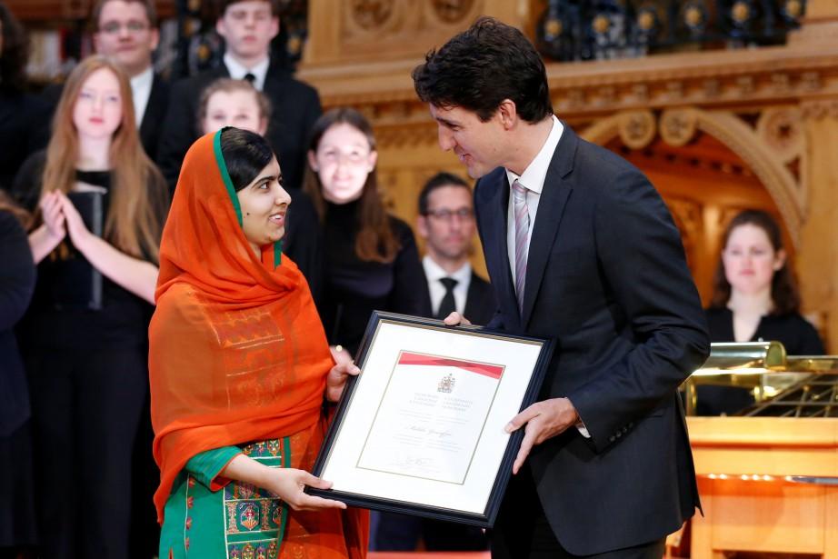 Le premier ministre Justin Trudeau a remis à... (Photo Chris Wattie, Reuters)