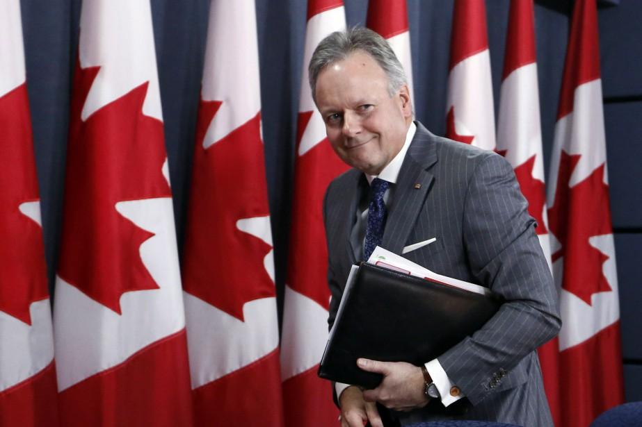 Le gouverneur de la banque Stephen Poloz... (Photo Fred Chartrand, La Presse canadienne)