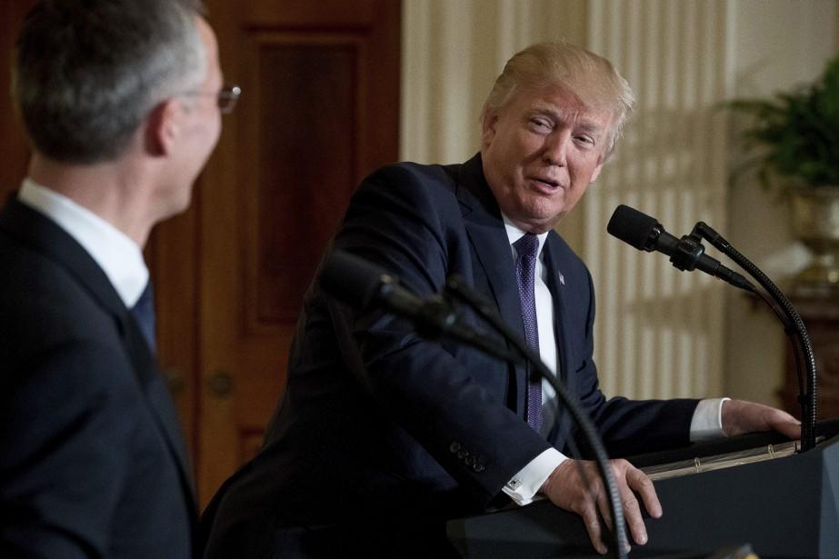 «Ce serait merveilleux si l'OTAN et notre pays... (PHOTO AP)