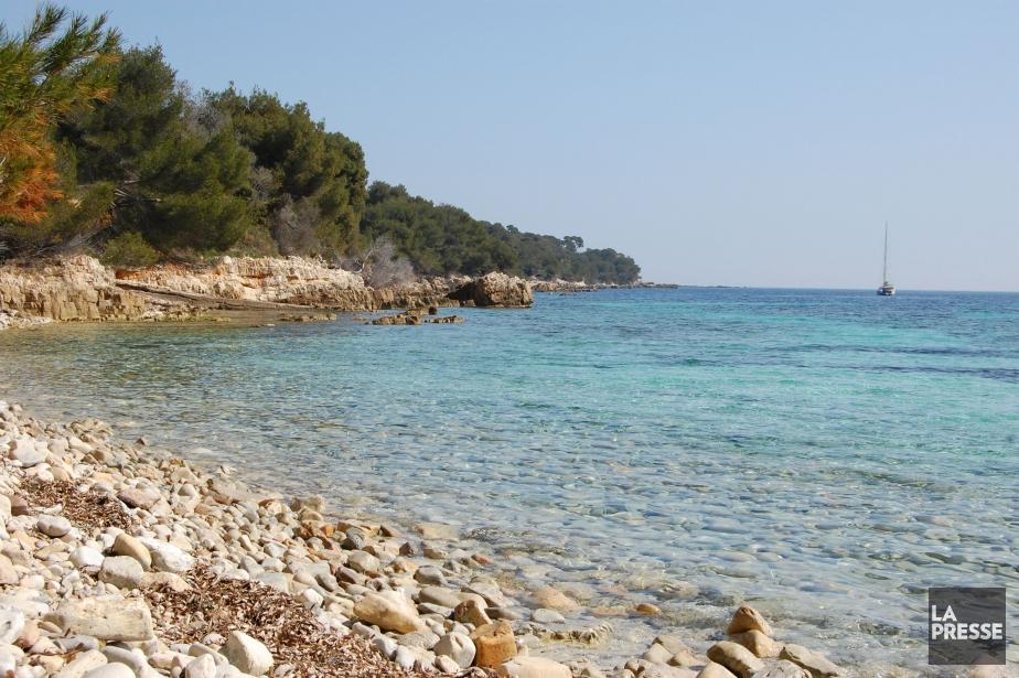 Au large de Cannes, les îles de Lérins... (Photo La Presse)