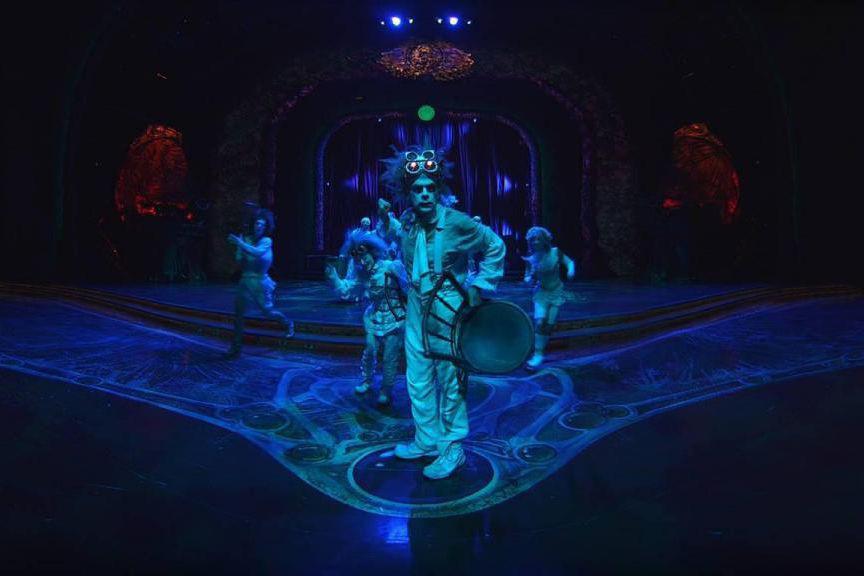 Photo tirée du film Cirque du Soleil-Zarkana, tournée... (Photo fournie par le Centre Phi)