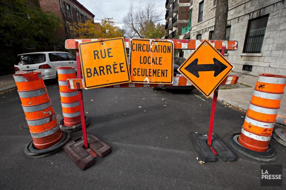 Depuis 2015, Montréal évalue les entrepreneurs réalisant des... (Photo Patrick Sanfaçon, archives La Presse)