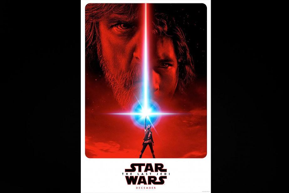 L'affichedeStar Wars: EpisodeVIII - The Last Jedi... (Photo fournie par LucasFilm/Disney)