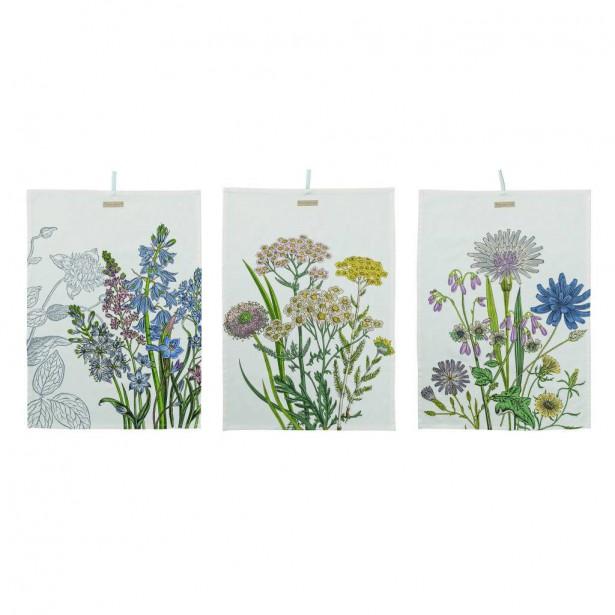 Linges à vaisselle aux motifs de fleurs de Bloomingville. Linges à vaisselle aux motifs de fleurs de Bloomingville. Vestibule Boutique Art de vivre ()