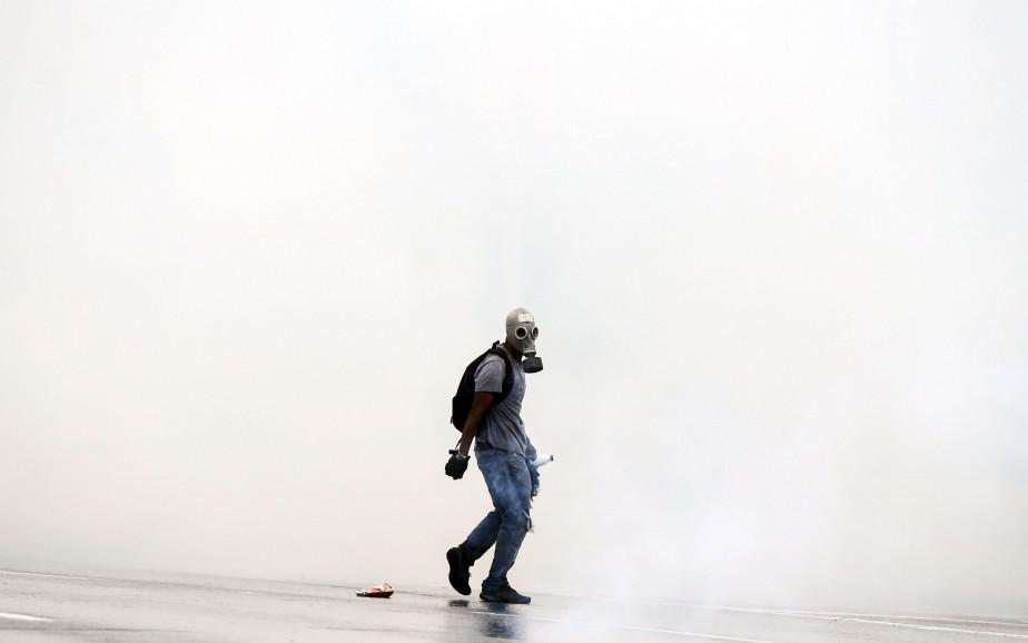 Les manifestations contre le président du Venezuela, Nicolas Maduro, se... | 2017-04-14 00:00:00.000