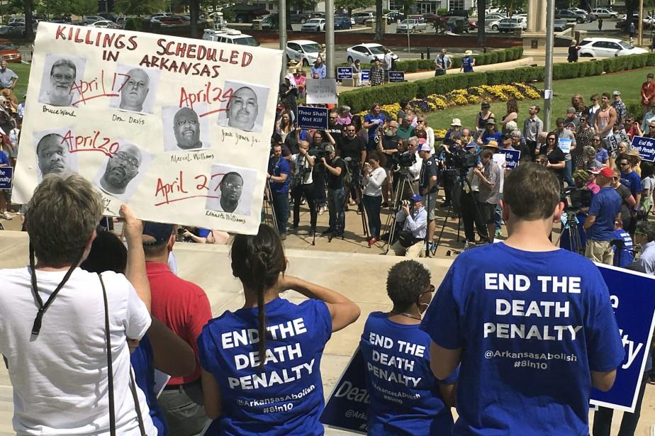 Un juge a émis une ordonnance temporaire empêchant... (Photo Kelly P. Kissel, AP)