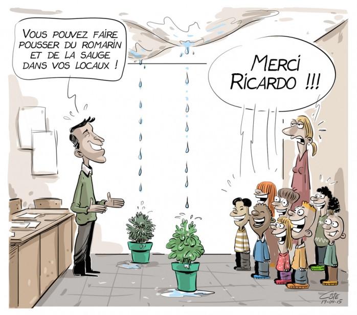 Caricature du 15 avril | 15 avril 2017