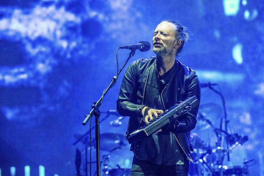 Thom Yorke, leader de Radiohead... (Photo Amy Harris, AP)