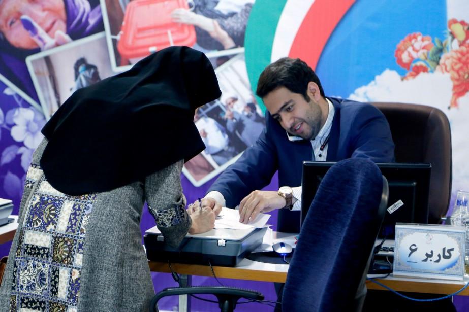 Au nombre des candidats pour la présidentielle iranienne... (Photo ATTA KENARE, AFP)