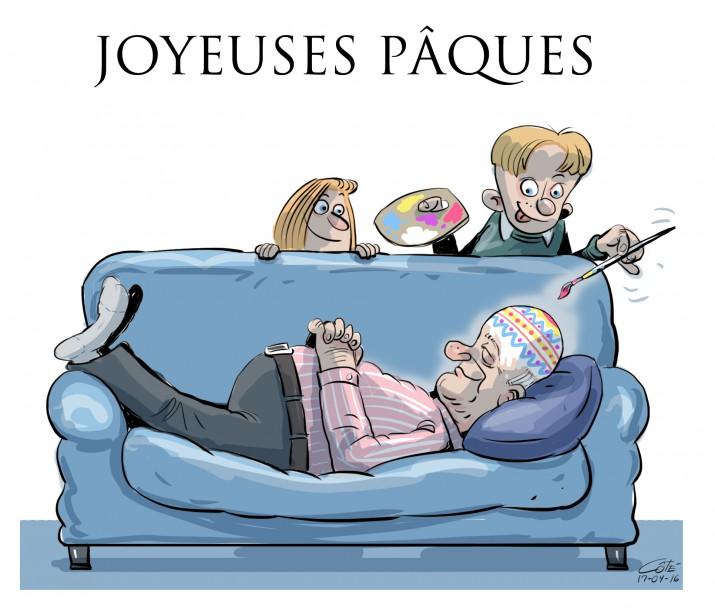 Caricature du 16 avril 2017...   2017-04-15 00:00:00.000