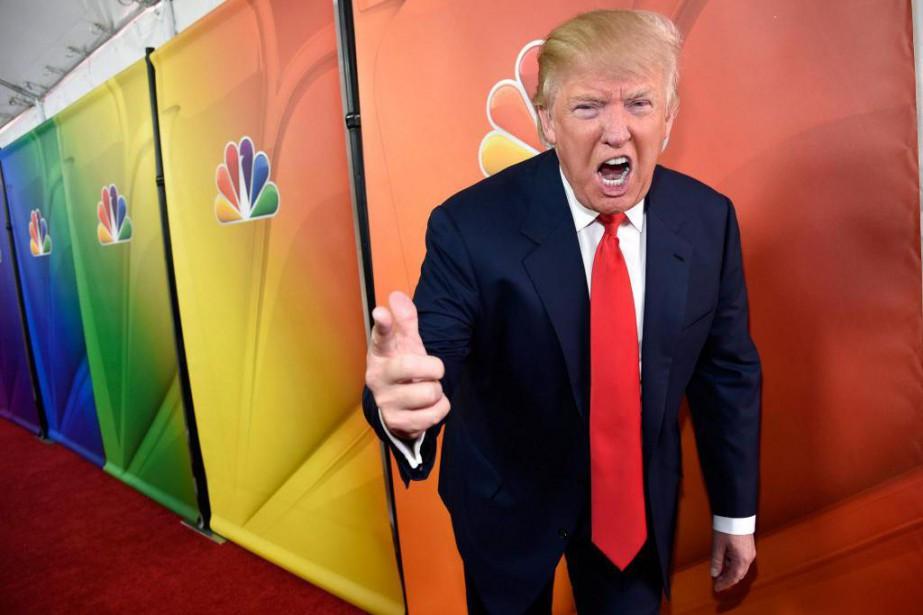 Donald Trump au début de l'année 2015, alors... (PHOTO ARCHIVES ASSOCIATED PRESS)