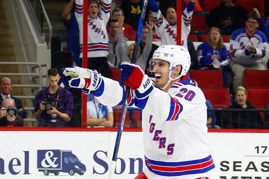 Chris Kreider... (Photo James Guillory, archives USA TODAY)